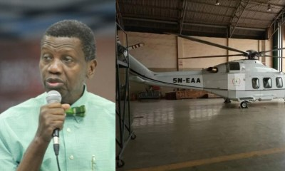 pastor adeboye in private chopper 3