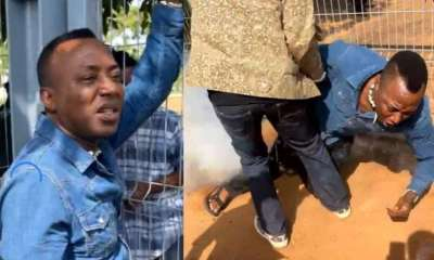 Police deny shooting Omoyele Sowore during protest in Abuja