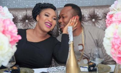 Don't go back to your vomits - Tonto Dikeh shades ex-husband, Churchill as she advises fans on the necessity of growth