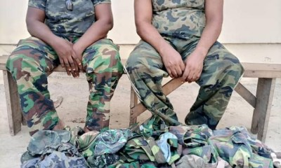 Two fake soldiers including a woman arrested by police in Delta-TopNaija.ng