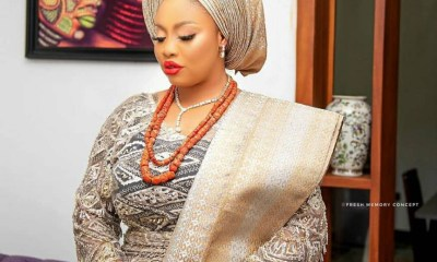 Wife of Alaafin of Oyo, Olori Memunat share gorgeous birthday photos as she clocks a new age