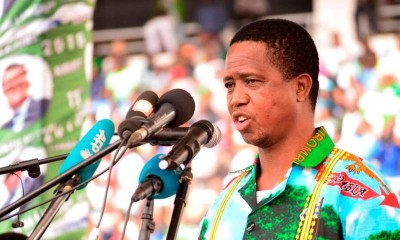 Zambia President Edgar Lungu collapses after at Defence Day event