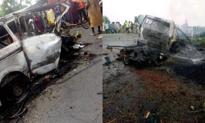 At least 20 persons burnt to ashes in Jigawa road accident-TopNaija.ng