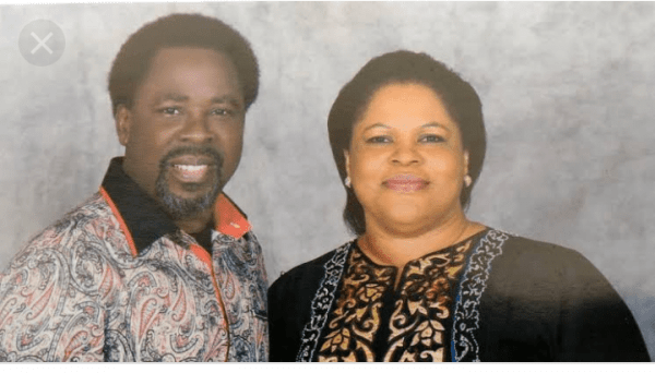 tb Joshua and wife evelyn