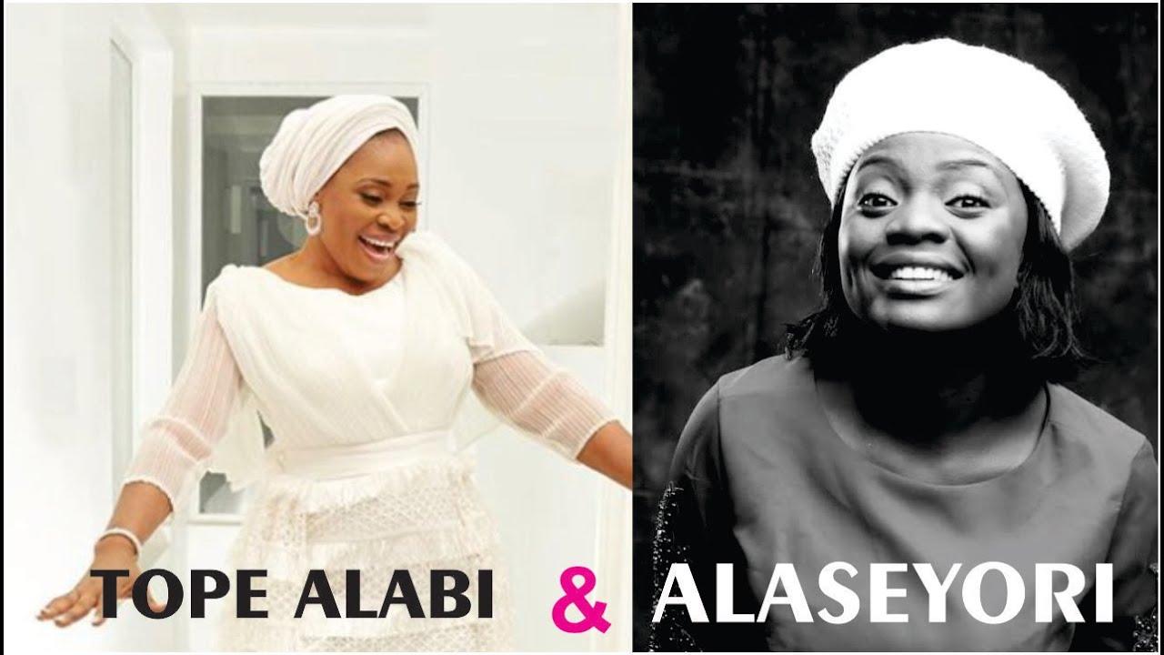 Adeyinka Alaseyori and Tope Alabi