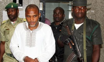 Nnamdi Kanu arrested