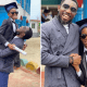 'The chairman is going to college' - Timi Dakolo celebrates son as he graduates from primary school