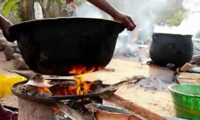 Cooking gas tax