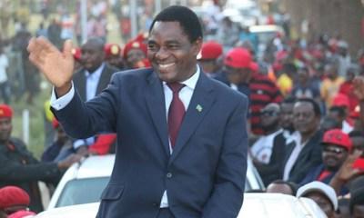 Hakainde Hichilema, Zambia 1