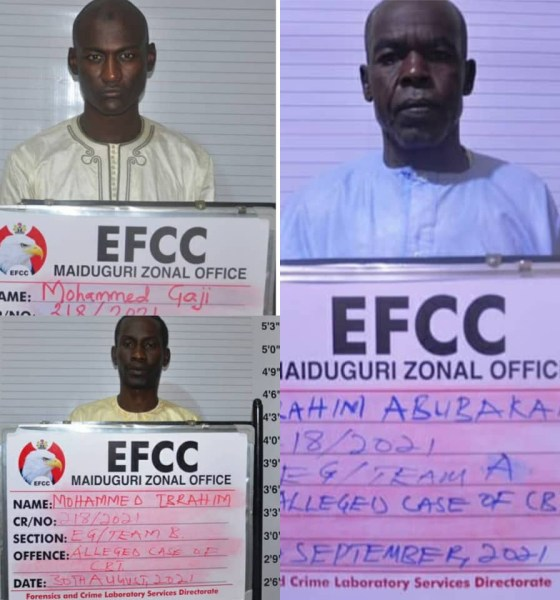 EFCC arrests 3 'spiritualists' for fraudulent N16m get-rich-quick scheme