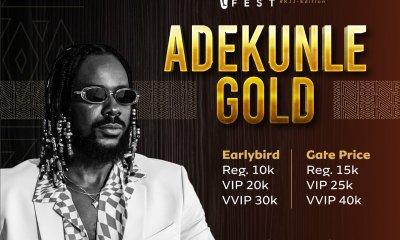 Adekunle Gold via twitter