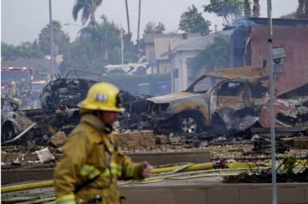 california plane crashes