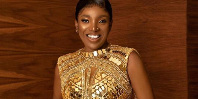 Annie Idibia is filming a new series 'The Adventures of Nkoyo' directed by Seyi Babatope