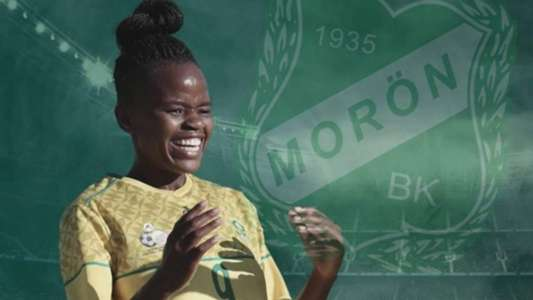Banyana star Magaia scores first professional goal for Moron | Goal.com