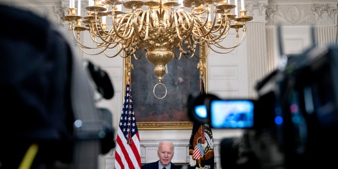 Biden will deliver a prime time address on Thursday, marking the first anniversary of the pandemic in the U.S.