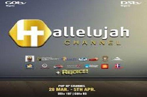 Hallelujah Pop-up channel returns for Easter