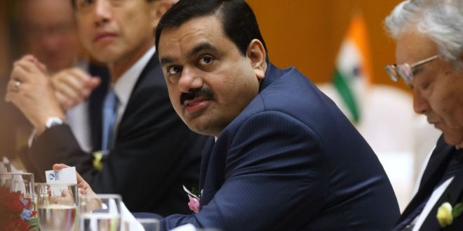 India's infrastructure king: Adani sees world's top wealth surge