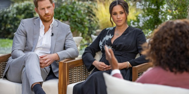 Meghan says UK royals raised concerns about son's skin colour