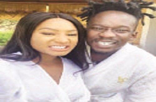 Mr Eazi gets billionaire's motivational tips from girlfriend