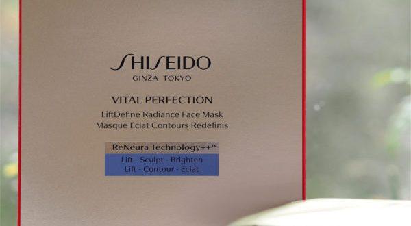 Shiseido Vital Perfection Radiance Sheet Mask | British Beauty Blogger