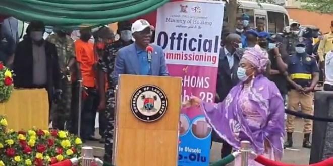 Veteran Nollywood Actress, Iya Awero Gets House Gift From Gov Sanwo-Olu