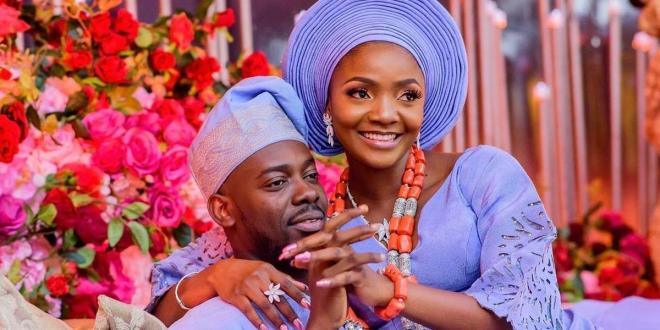 Adekunle Gold celebrates wife Simi on her birthday