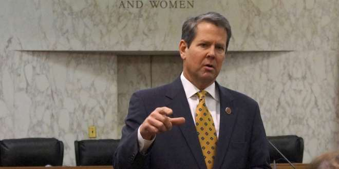 Brian Kemp Panics And Warns That Republicans Are Fighting For Their Lives