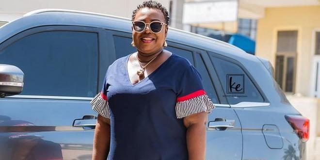 Gifty Anti 'traumatised and shaken' after nearly hitting a pedestrian on the Tema motorway