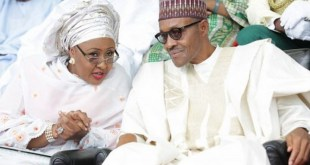 I have observed Aisha with keen interest as she addresses many of the social concerns that have given her sleepless nights - Buhari