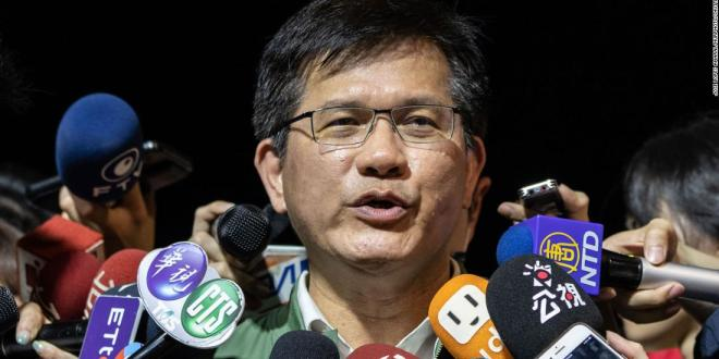 Taiwan's transport minister offers resignation after dozens killed in train crash