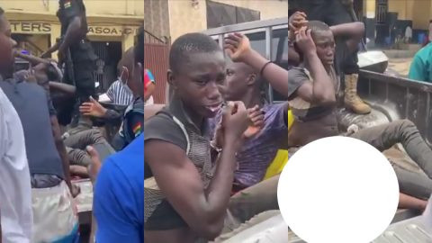 Two teenage boys arrested for allegedly killing a friend for money ritual in Ghana (video)