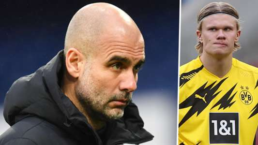 'What the f*ck are you doing?!' - Guardiola reveals why he can't speak about Haaland | Goal.com