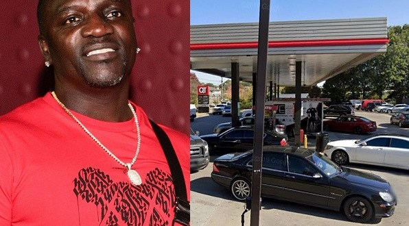 Akon?s Range Rover stolen as he pumped gas into the vehicle