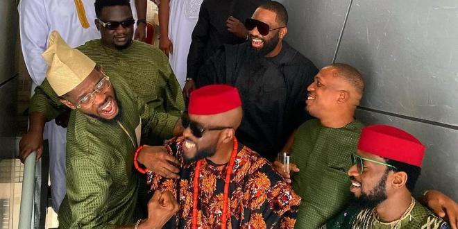 D'banj, Don Jazzy, Naeto C, Wande Coal, others attend Ikechukwu's wedding