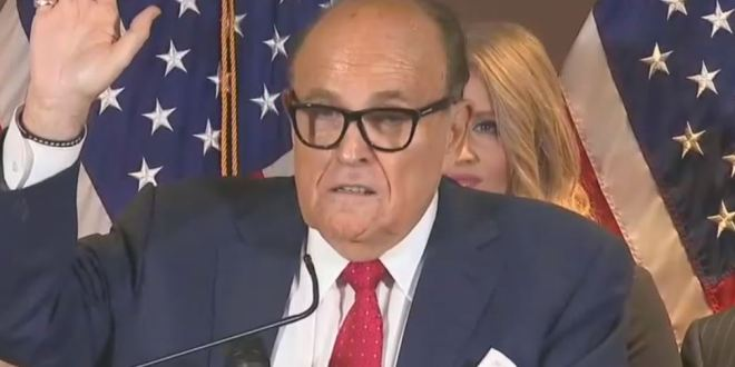 Federal Judge Rejects Giuliani's Efforts Challenging Search Warrant