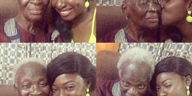 """""""I love my life as it is,"""" Yvonne Jegede tells follower who suggested she wanted her ex-husband back after she shared photos of her late mother-in-law"""