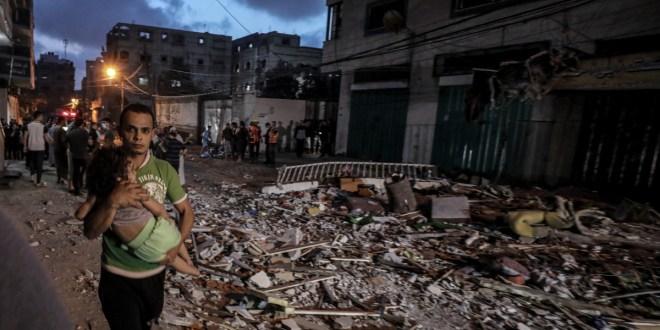 Israel launches new air raids on besieged Gaza Strip: Live news