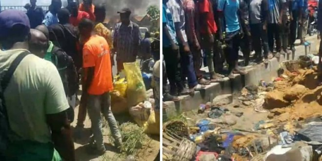 Lagos police vows to arrest residents who killed mentally-challenged woman falsely accused of being in possession of a stolen baby and AK-47 guns