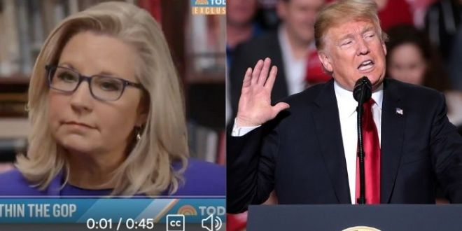 Liz Cheney Floats Conspiracy Theory That Trump Will 'Unravel The Democracy To Come Back Into Power'