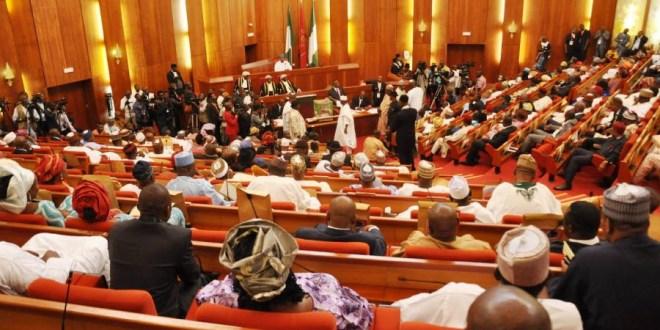 Senate suspends plenary for one week
