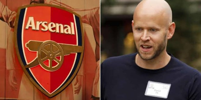 Spotify CEO, Daniel Ek says Arsenal club owner, Kroenke, rejected his bid for the club