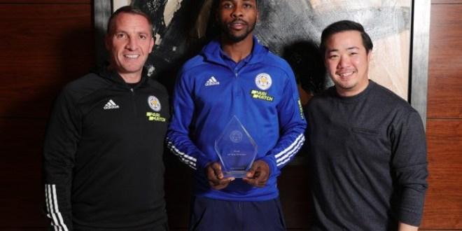 Super Eagles striker, Kelechi Iheanacho wins Leicester City?s goal of the season award