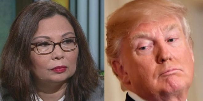 Tammy Duckworth Says Republicans Would Rather Defend Trump 'Than Defend Our Democracy'