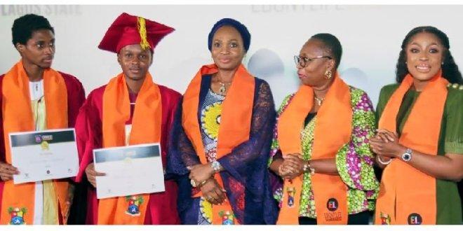 120 film students graduate from the EbonyLife Creative Academy