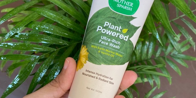Mother Sparsh Plant Powered Ultra-Rich Face Wash