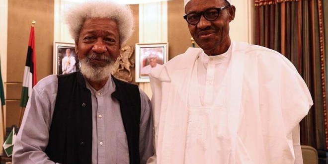 Buhari should stop exuding a false confidence - Soyinka