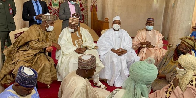 Governors, Ministers, top APC officials arrive Emir of Kano