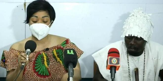 Joyce Dzidzor tests positive for HIV on live TV after claiming she's negative (WATCH)