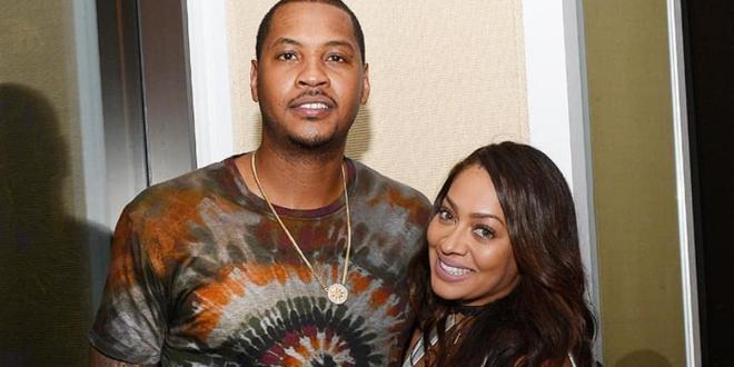 Media personality La La Anthony reportedly files for divorce from NBA star husband Carmelo Anthony