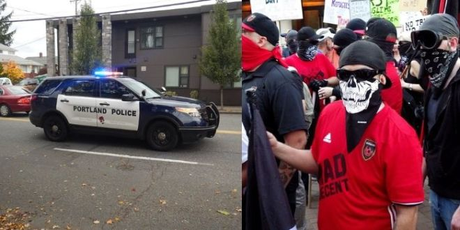 The Entire Portland Police Unit That Deals With Crowd Control Resigned